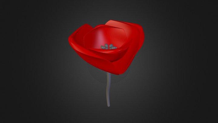 Coquelicot 3D Model
