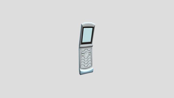 motorola razr cell phone 3D Model