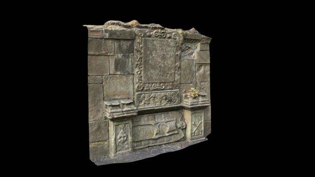 Montrose wall memorial 3D Model