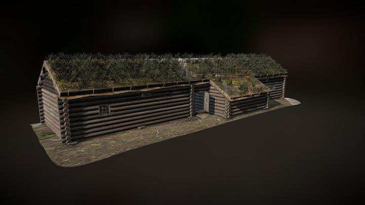 16th century semi-detached house 3D Model