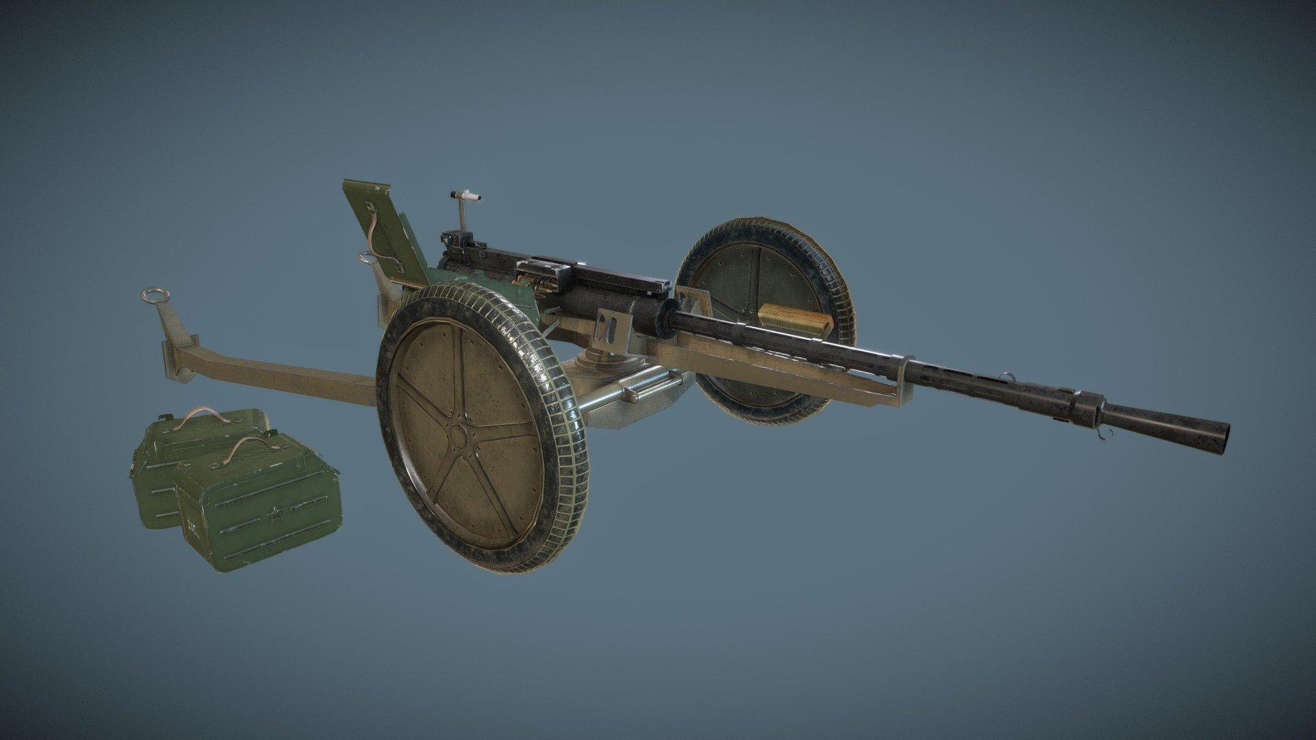 кпвт пулемет характеристики фото полку можно установить
