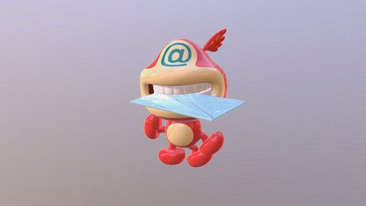 mail 3D Model