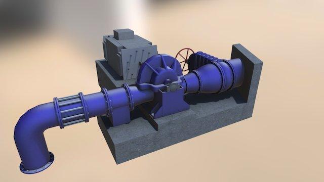waterpump_full2 3D Model