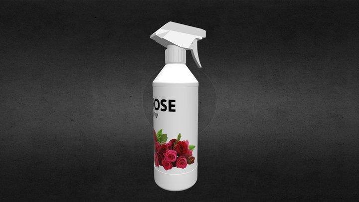 Rose Spray 3D Model