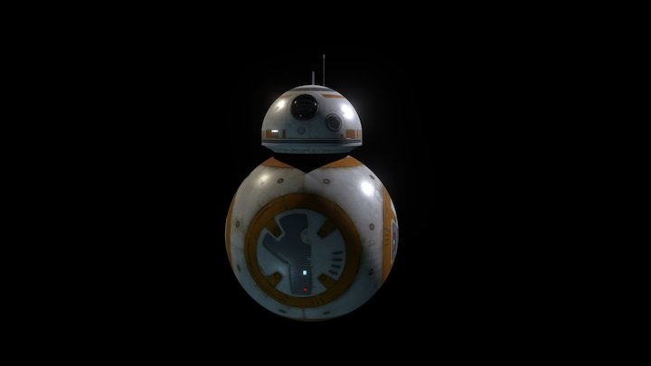 BB8 (Animated) 3D Model