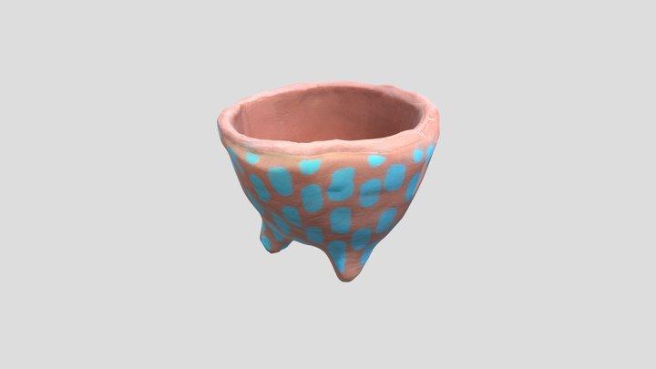 Egg-cup-heyclay-17 3D Model