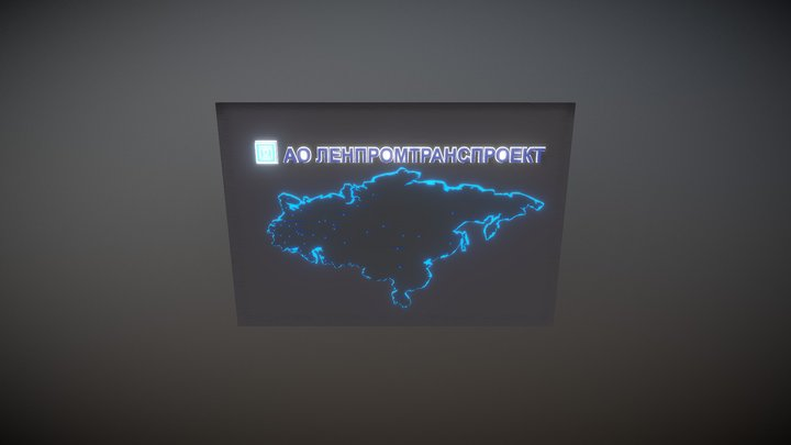 Map6 3D Model