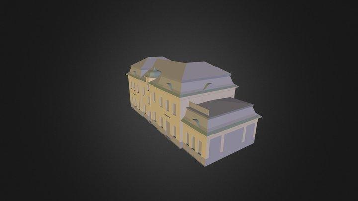Nadrazi Projekt 3D Model