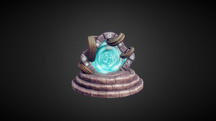 Magic Gate 3D Model