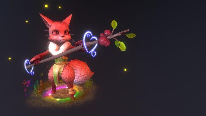 Berry Twig 3D Model
