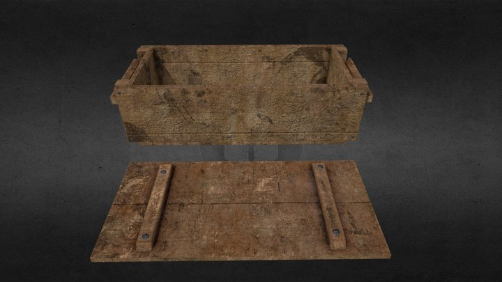 Weapon Crate 3D Model