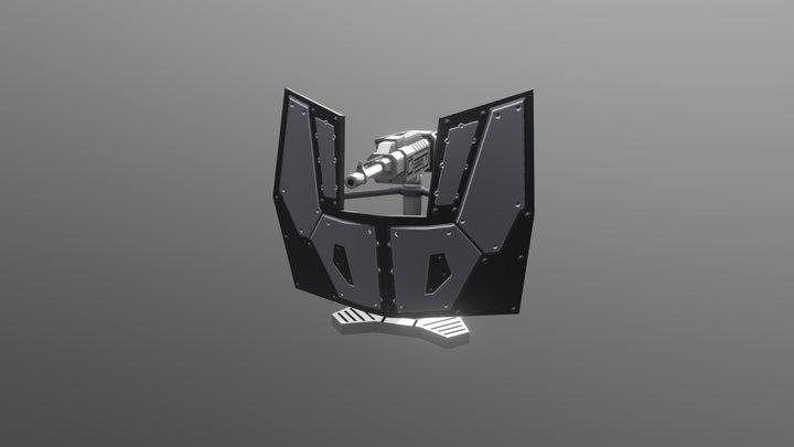 Light Gun 3D Model