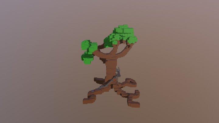 Tree market 3D Model