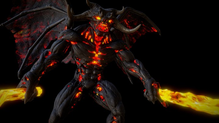 DEMON LORD ANIMATIONS 3D Model