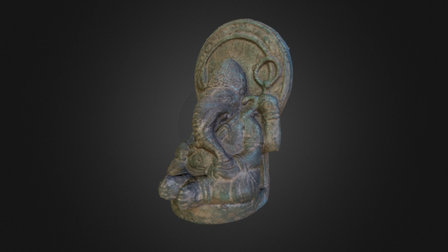 Ganesha OBJ 3D Model