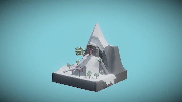 Autumn Start - Low Poly 3D Model