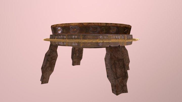 Fire Bowl 3D Model