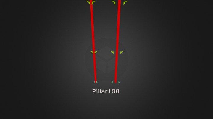 pilastro terza versione 3ds 3D Model
