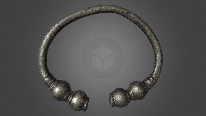 Armband3 Zilverschat 3D Model