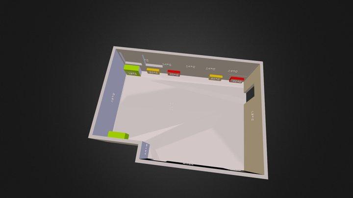 Salle cit 3D Model