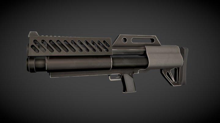 Sentinels of Freedom - Plasma Rifle 3D Model