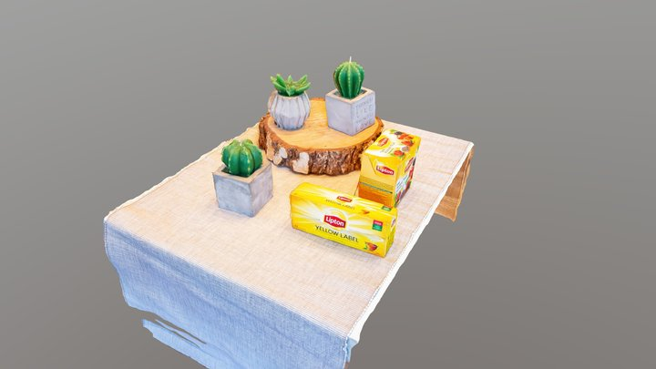 2020-04-06 Kompozycja 2 3D Model