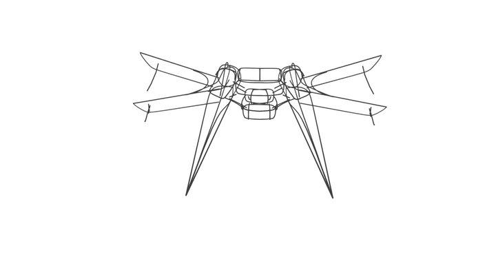 h_wing 3D Model