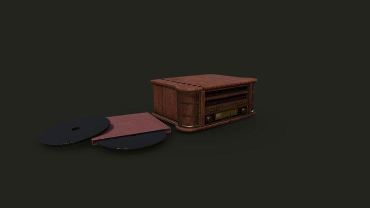 Pickup Music Player 3D Model