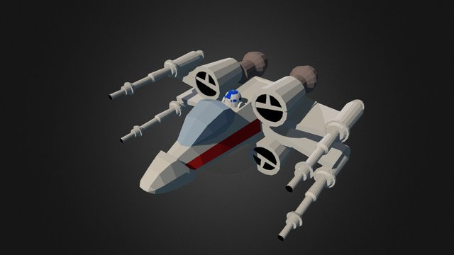 X-wing (Star Wars Contest 2015) 3D Model