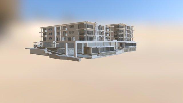 1503A CD1 No Internal Walls And Gassl Bal 3D Model