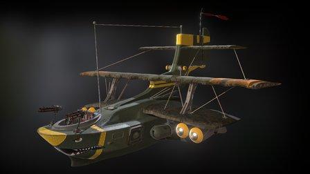 """B -104 """"Le petit bâtard"""" 3D Model"""
