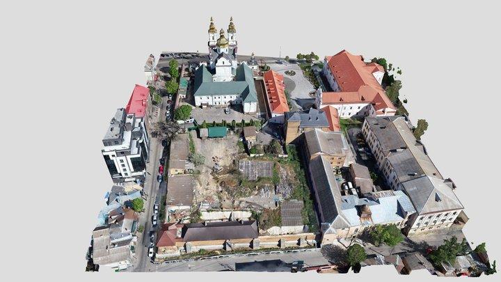 3D model Vinnytsia (Муры ) 3D Model