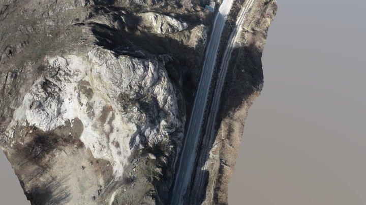 Landslide -  Veles 3D Model