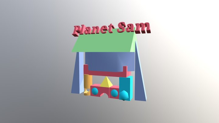 TinkerCAD #HouseCompetition: Planet Sam 3D Model