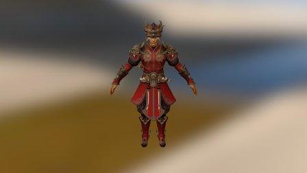 Dragón Armor 3D Model