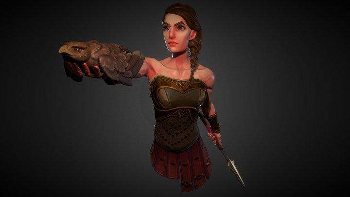 Kassandra and Ikaros 3D Model