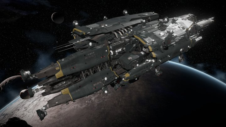 "TDS ""Protector"" - Fractured Space 3D Model"