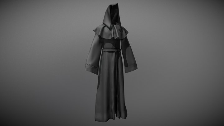 Priest 3D Model