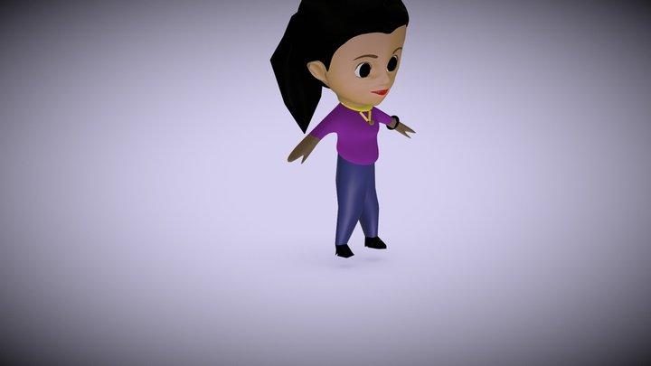 3D Character model 3D Model
