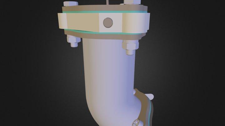 przepustnica 2 3D Model