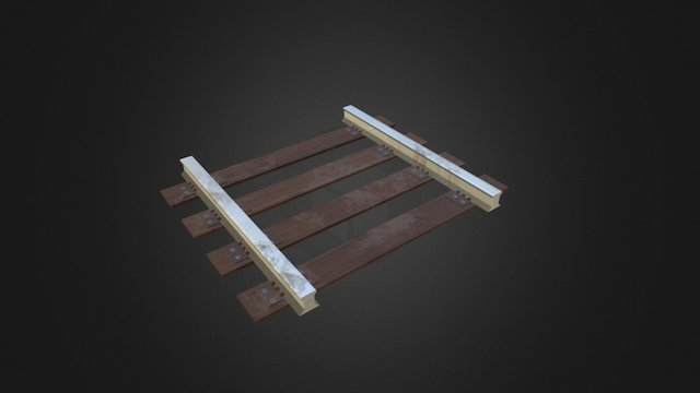 Railroad 3D Model