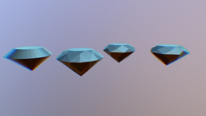 Gems Collection 3D Model