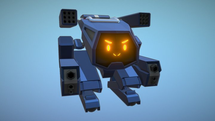 Mech Draft 01 3D Model