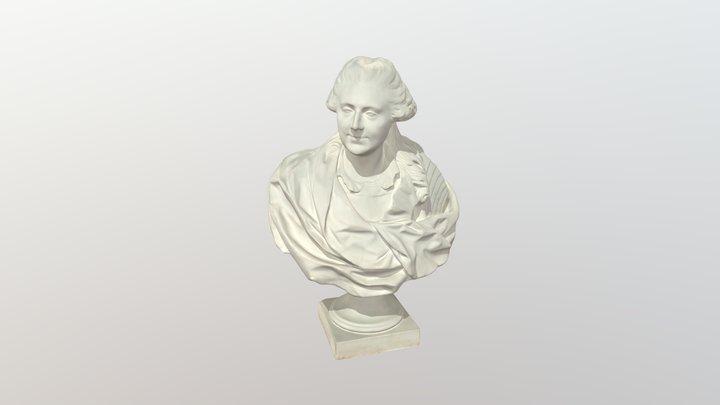 A. Lebrenas. Stanislovas Augustas Poniatovskis 3D Model