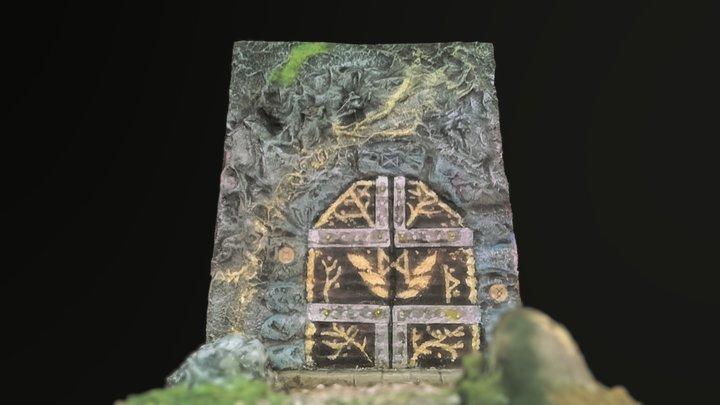 Dwarven gate 3D Model