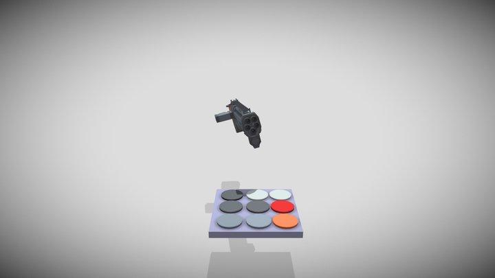 ShotGun Draft 3D Model