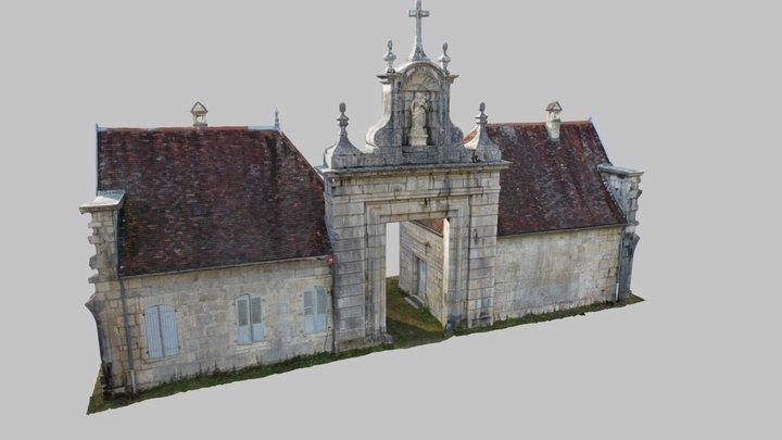 Portail de la Chartreuse de Vaucluse 3D Model