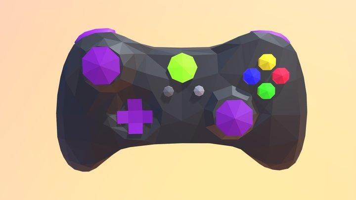 Xbox Controller LP 3D Model