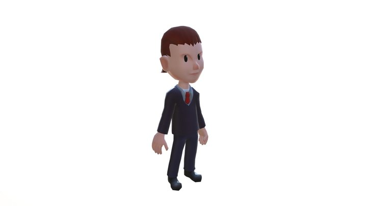 Agents 3D Model