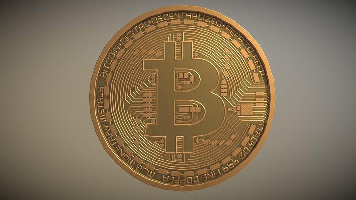 modelul 3d bitcoin etro crypto